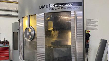machine d'usinage